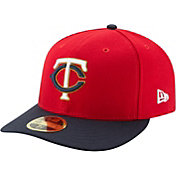 New Era Men's Minnesota Twins 59Fifty Alternate Red Low Crown Fitted Hat