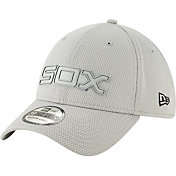 New Era Men's Chicago White Sox 39Thirty Clubhouse Grey Stretch Fit Hat