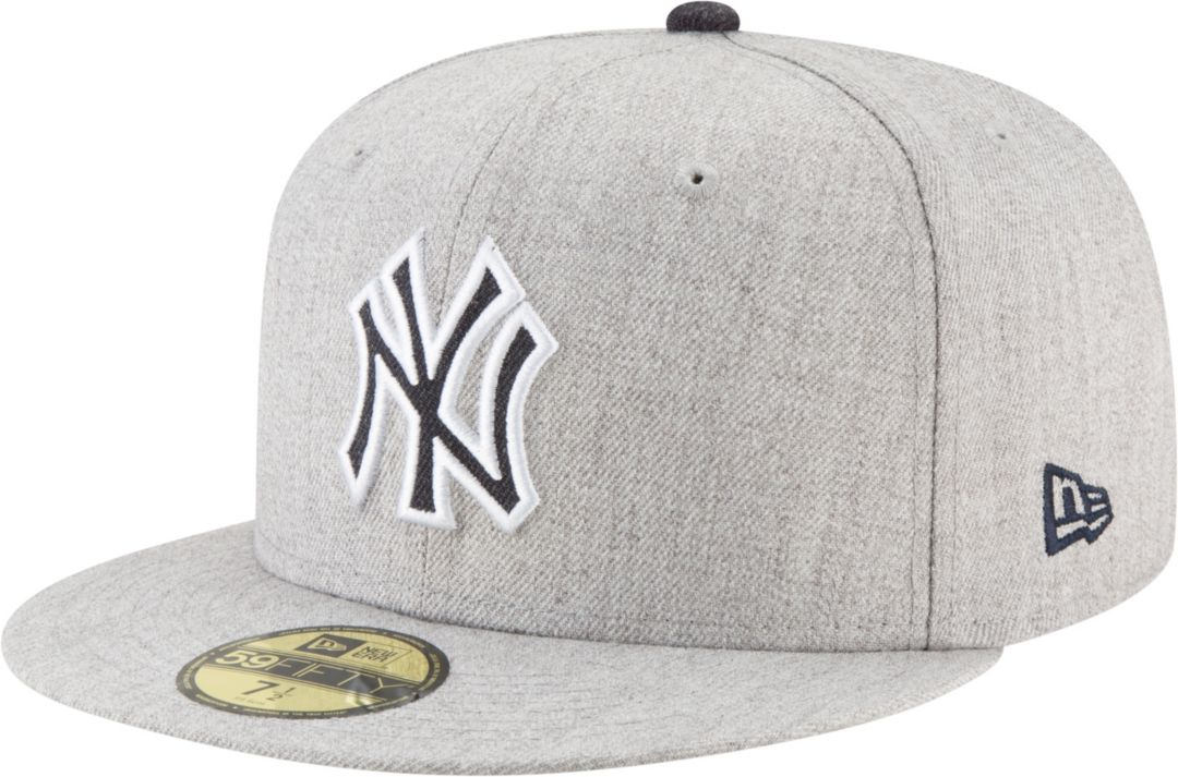 9bf73c6d77e5b9 New Era Men's New York Yankees 59Fifty Heather Hype Fitted Hat ...