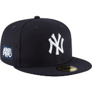 New Era Men's New York Yankees 59Fifty Navy Fitted Hat w/ Big Apple Patch