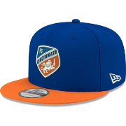 New Era Men's FC Cincinnati 9Fifty Logo Blue Snapback Adjustable Hat