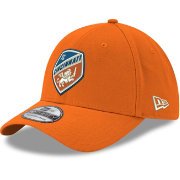 New Era Men's FC Cincinnati 39Thirty Logo Orange Stretch Fit Hat