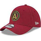 New Era Men's Atlanta United 39Thirty Red Flex Hat