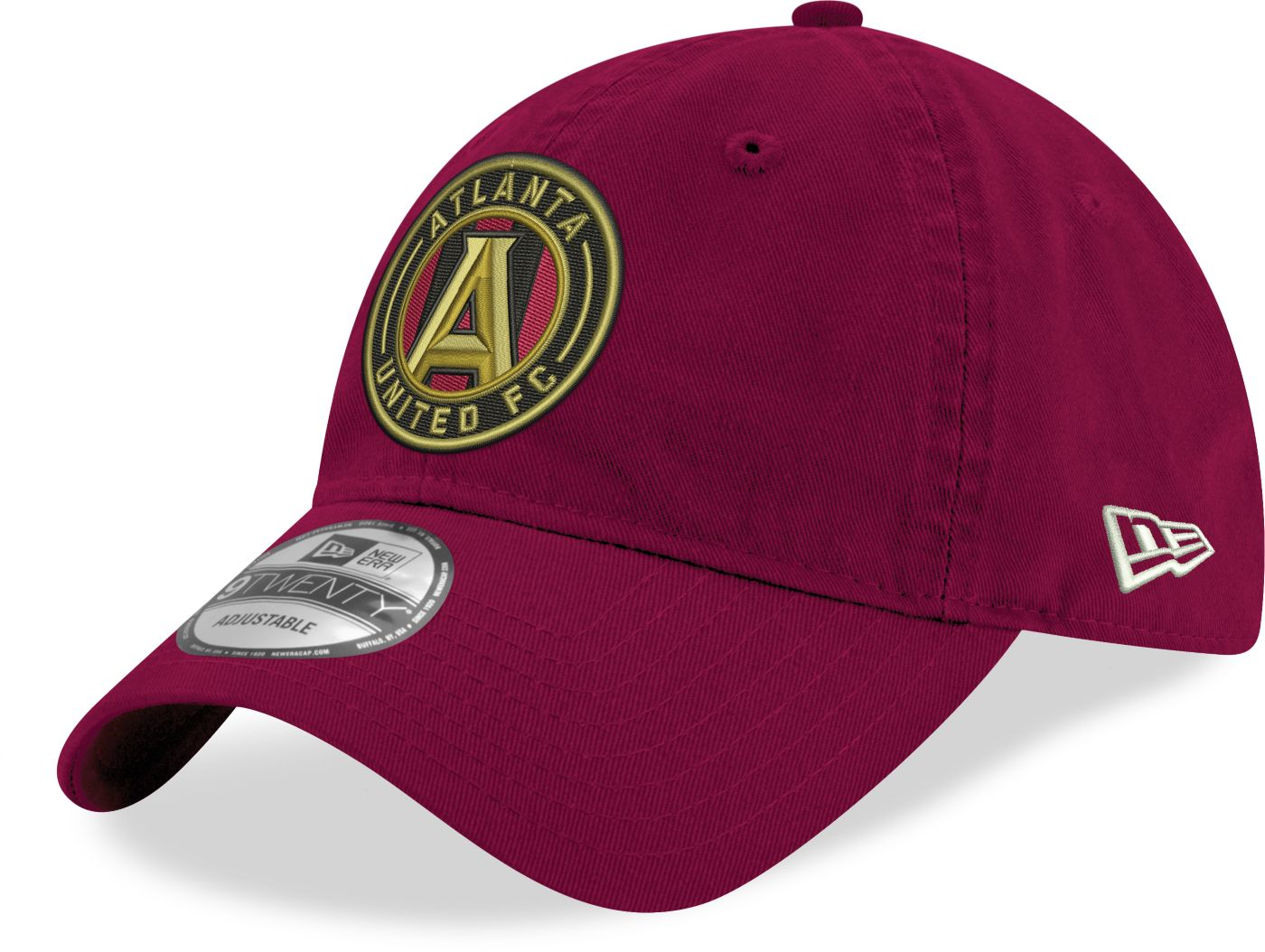 New Era Men's Atlanta United 9Twenty Red Adjustable Hat