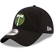 New Era Men's Portland Timbers 9Twenty Black Adjustable Hat