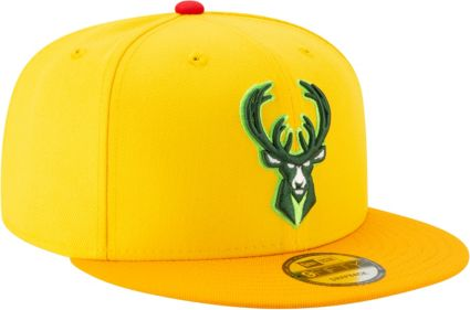 b1612563179e New Era Men s Milwaukee Bucks 9Fifty City Edition Adjustable Snapback Hat.  noImageFound. 1   1