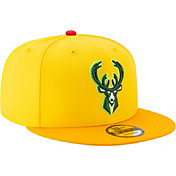 New Era Men's Milwaukee Bucks 9Fifty City Edition Adjustable Snapback Hat