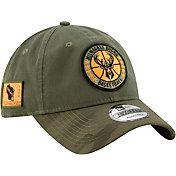 New Era Men's Milwaukee Bucks 9Twenty On-Court Camo Adjustable Hat