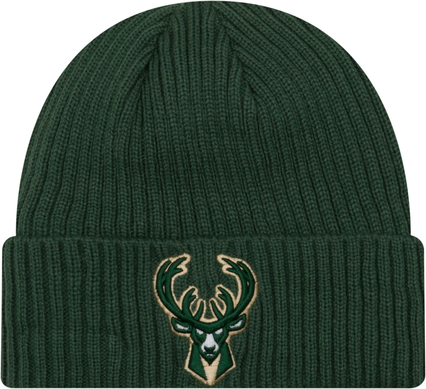 New Era Men's Milwaukee Bucks Core Classic Knit Hat