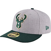 New Era Men's Milwaukee Bucks 59Fifty Low Crown Fitted Hat