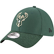 New Era Men's Milwaukee Bucks 39Thirty Pop Shadow Stretch Fit Hat
