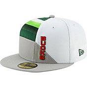 New Era Men's Milwaukee Bucks 59Fifty Earned Edition Fitted Hat