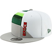 New Era Men's Milwaukee Bucks 9Fifty Earned Edition Adjustable Snapback Hat