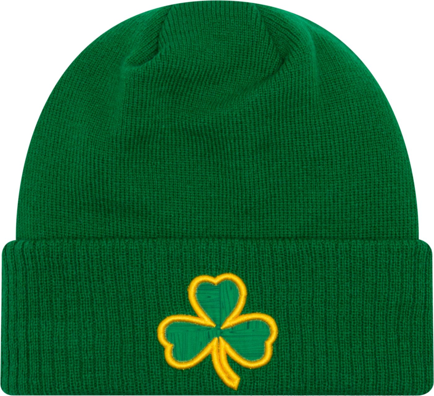 New Era Men's Boston Celtics City Edition Knit Hat