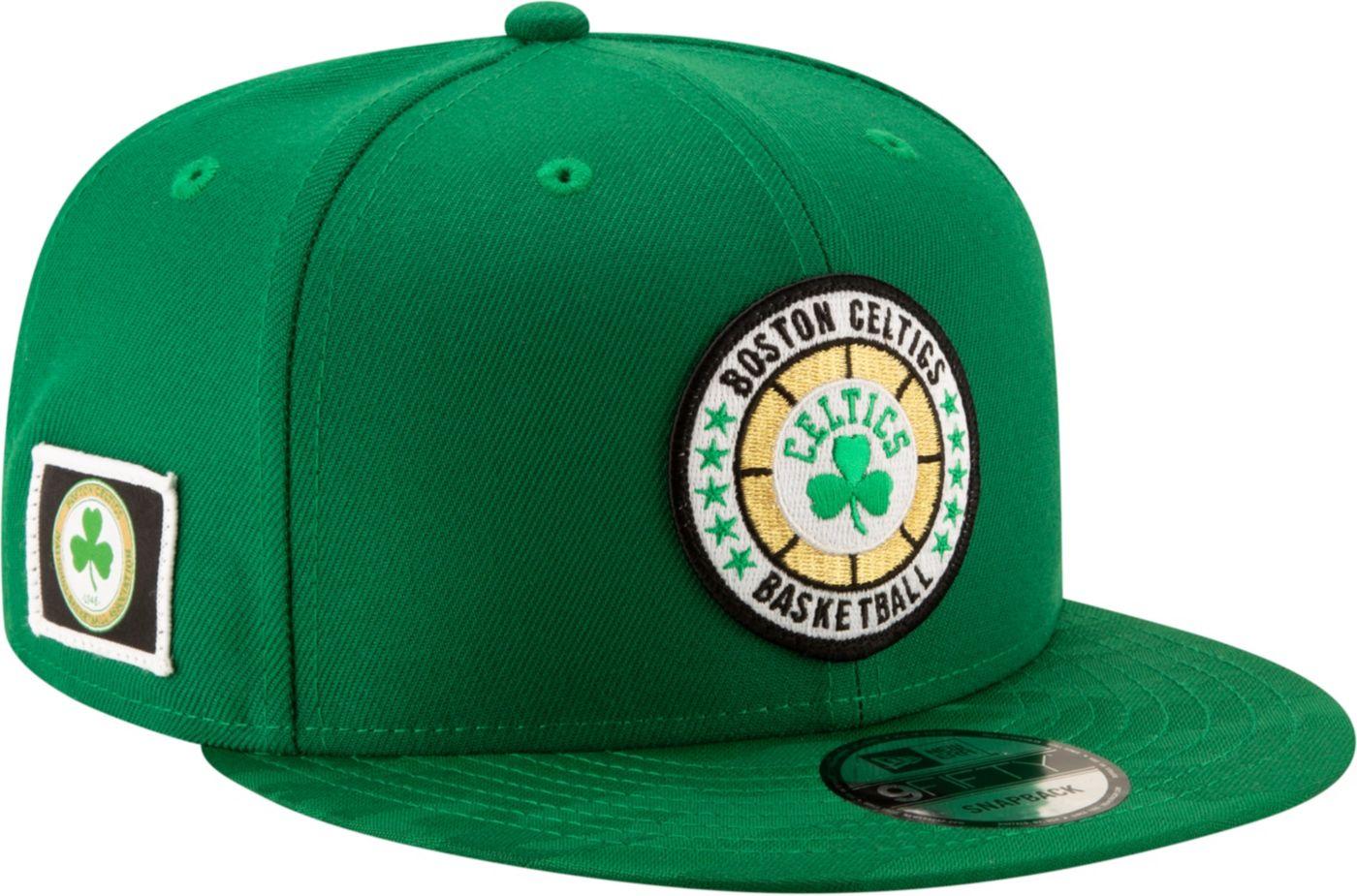 New Era Men's Boston Celtics 9Fifty On-Court Adjustable Snapback Hat