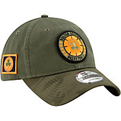 New Era Men's Boston Celtics 9Twenty On-Court Camo Adjustable Hat