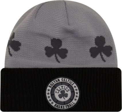 New Era Men's Boston Celtics On-Court Knit Hat