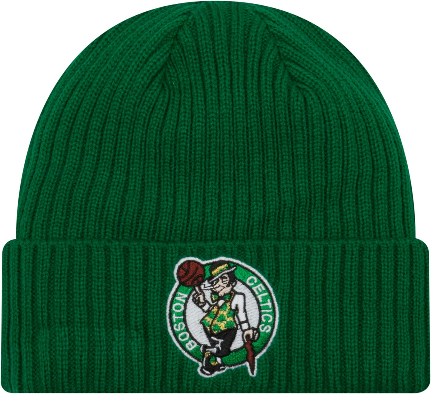 New Era Men's Boston Celtics Core Classic Knit Hat