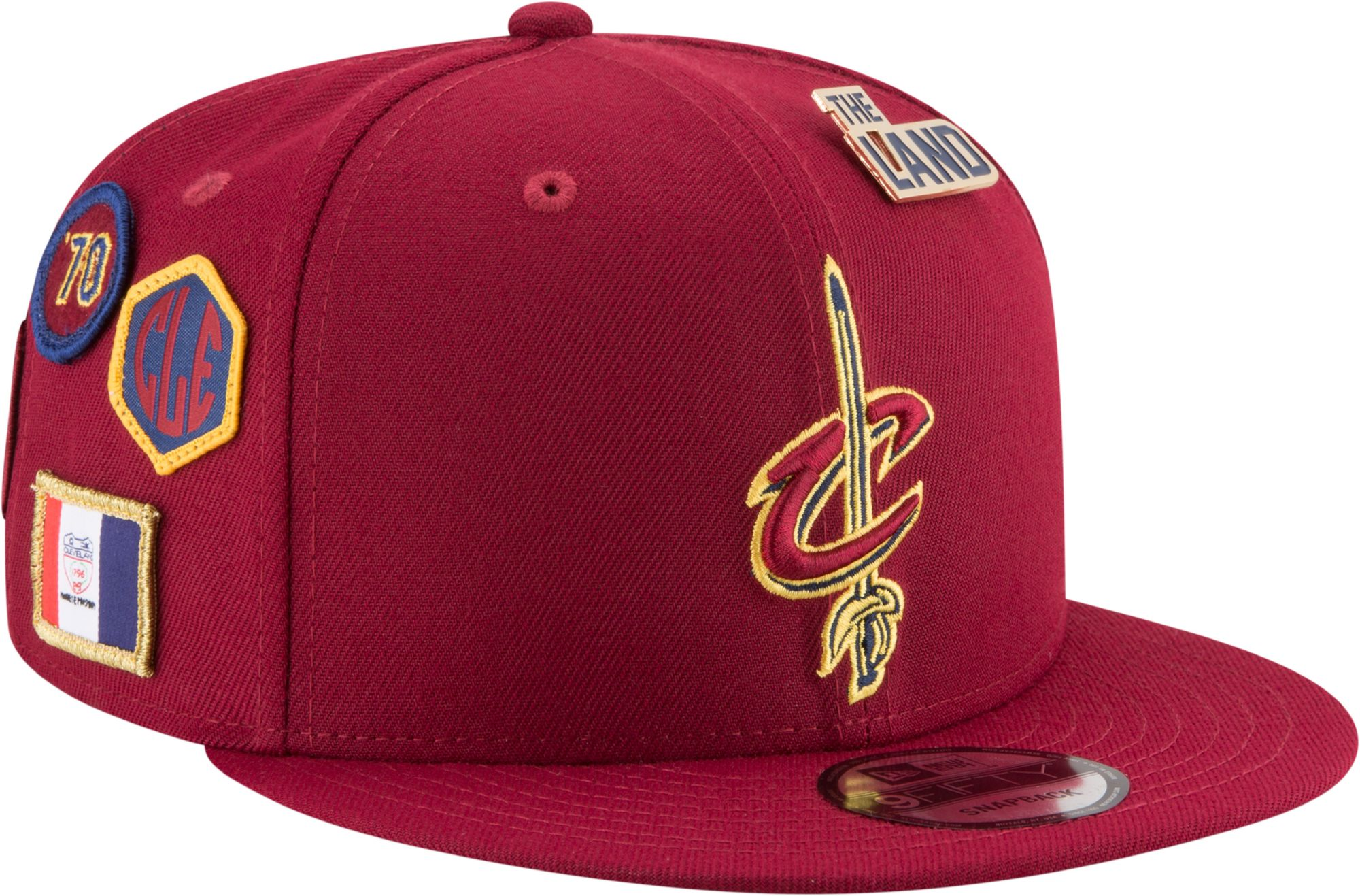 ed0081114a2f9d ... wholesale new era mens cleveland cavaliers 2018 nba draft 9fifty  adjustable snapback hat 2a965 1c550