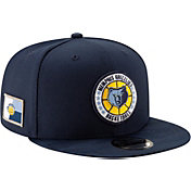 New Era Men's Memphis Grizzlies 9Fifty On-Court Adjustable Snapback Hat