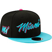 New Era Men's Miami Heat 9Fifty City Edition Adjustable Snapback Hat