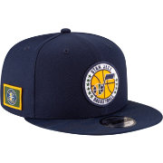New Era Men's Utah Jazz 9Fifty On-Court Adjustable Snapback Hat