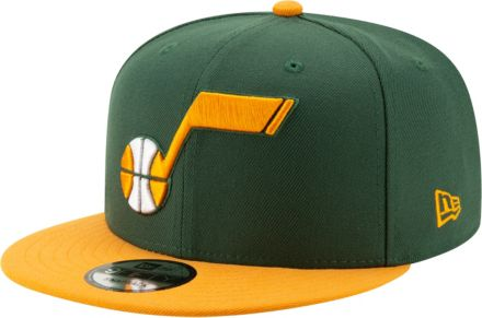 hot sale online bf7e0 b526e New Era Men  39 s Utah Jazz 9Fifty Earned Edition Adjustable Snapback Hat