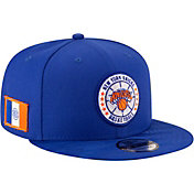New Era Men's New York Knicks 9Fifty On-Court Adjustable Snapback Hat