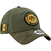New Era Men's New York Knicks 9Twenty On-Court Camo Adjustable Hat