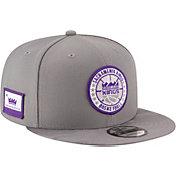 New Era Men's Sacramento Kings 9Fifty On-Court Adjustable Snapback Hat