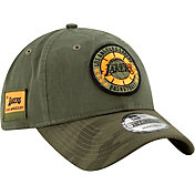 New Era Men's Los Angeles Lakers 9Twenty On-Court Camo Adjustable Hat