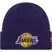 New Era Men s Los Angeles Lakers Core Classic Knit Hat  c631ba83ff