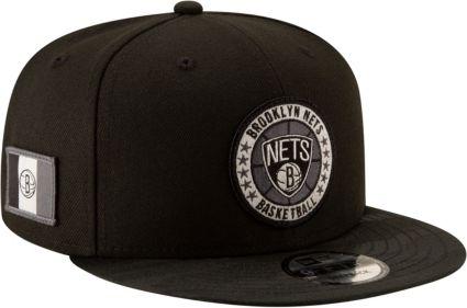 New Era Men's Brooklyn Nets 9Fifty On-Court Adjustable Snapback Hat