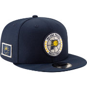 New Era Men's Indiana Pacers 9Fifty On-Court Adjustable Snapback Hat