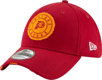 New Era Men s Indiana Pacers 39Thirty Hickory Stretch Fit Hat ... 2ccdf1958a5