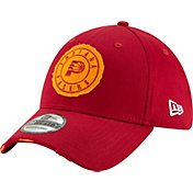 New Era Men's Indiana Pacers 39Thirty Hickory Stretch Fit Hat