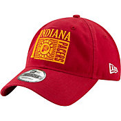 New Era Men's Indiana Pacers 9Twenty Hickory Adjustable Hat
