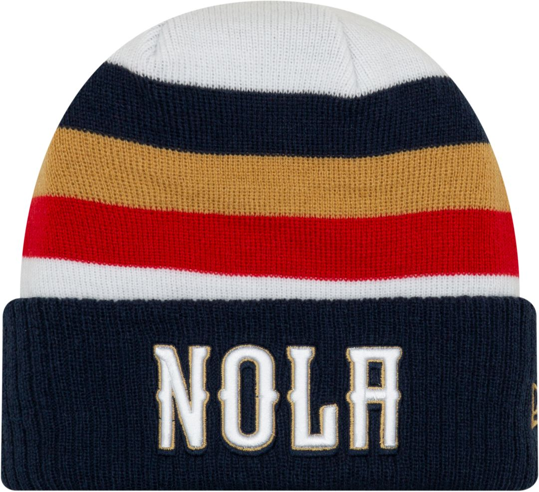 sale retailer c8a7e 27ed3 New Era Men s New Orleans Pelicans Earned Edition Knit Hat 1