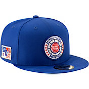 New Era Men's Detroit Pistons 9Fifty On-Court Adjustable Snapback Hat