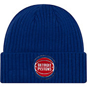 New Era Men's Detroit Pistons Core Classic Knit Hat