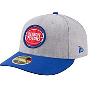 New Era Men's Detroit Pistons 59Fifty Low Crown Fitted Hat