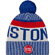 New Era Men's Detroit Pistons Knit Hat