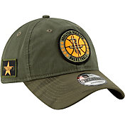 New Era Men's Houston Rockets 9Twenty On-Court Camo Adjustable Hat