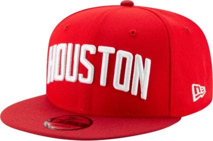 timeless design 32fbf 57c8d New Era Men s Houston Rockets 9Fifty Earned Edition Adjustable Snapback Hat