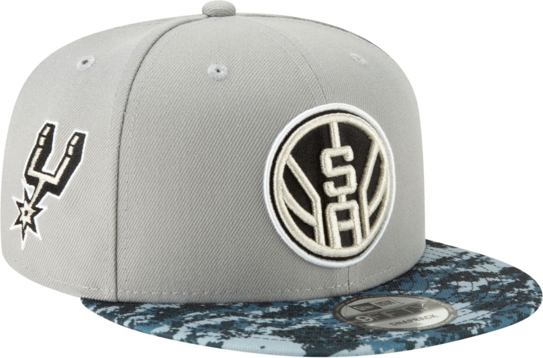 73be1727d72f40 New Era Men's San Antonio Spurs 9Fifty City Edition Adjustable Snapback Hat  1