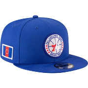 New Era Men's Philadelphia 76ers 9Fifty On-Court Adjustable Snapback Hat