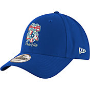 "New Era Men's Philadelphia 76ers 9Forty ""Phila Unite"" Royal Adjustable Hat"