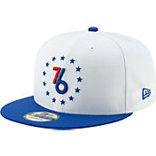 New Era Men's Philadelphia 76ers 9Fifty Earned Edition Adjustable Snapback Hat