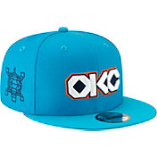 New Era Men's Oklahoma City Thunder 9Fifty City Edition Adjustable Snapback Hat