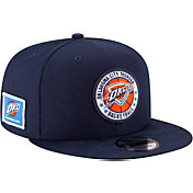New Era Men's Oklahoma City Thunder 9Fifty On-Court Adjustable Snapback Hat